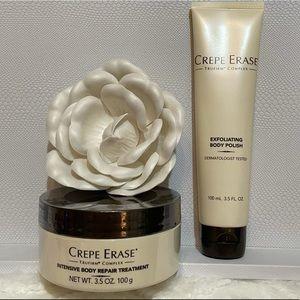 Crepe Erase Set NIP Body Repair Treatment & Polish